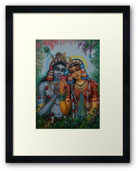 Radha Kunjabihari by Vrindavan Das