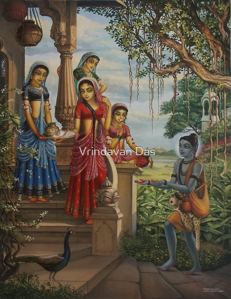 Krishna as shaiva sanyasi by Vrindavan Das