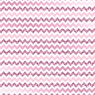 Chevron Pink Zigzag by SpiceTree