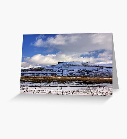 The Beauty of the Dales in Winter Greeting Card