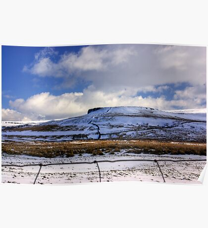 The Beauty of the Dales in Winter Poster