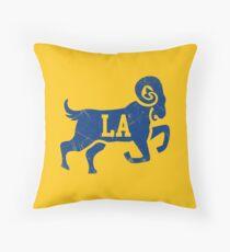 Fabulous La Rams Pillows Cushions Redbubble Uwap Interior Chair Design Uwaporg