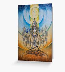 Tripura Sundari Shodashi Greeting Card
