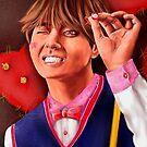 « Kim Taehyung V BTS Fanart » par Niji-Ninjart