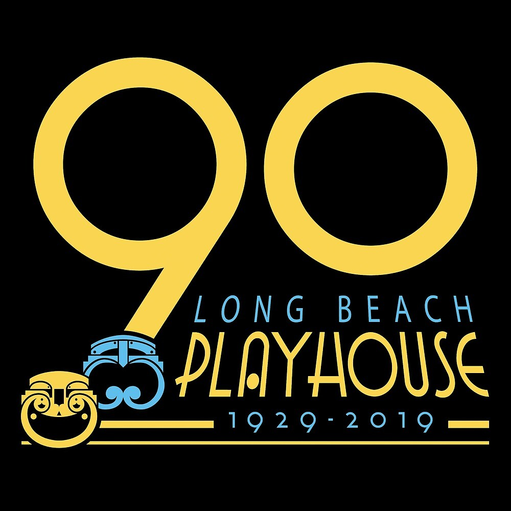 Long Beach Playhouse 90th Anniversary Logo by LBPlayhouse