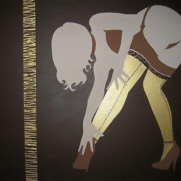 Gold Stockings by Dan-Carman