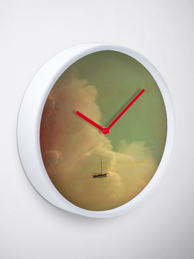 Alternate view of Once Upon a Time a Little Boat Clock