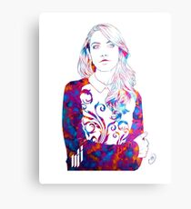 Alison Brie  Metal Print