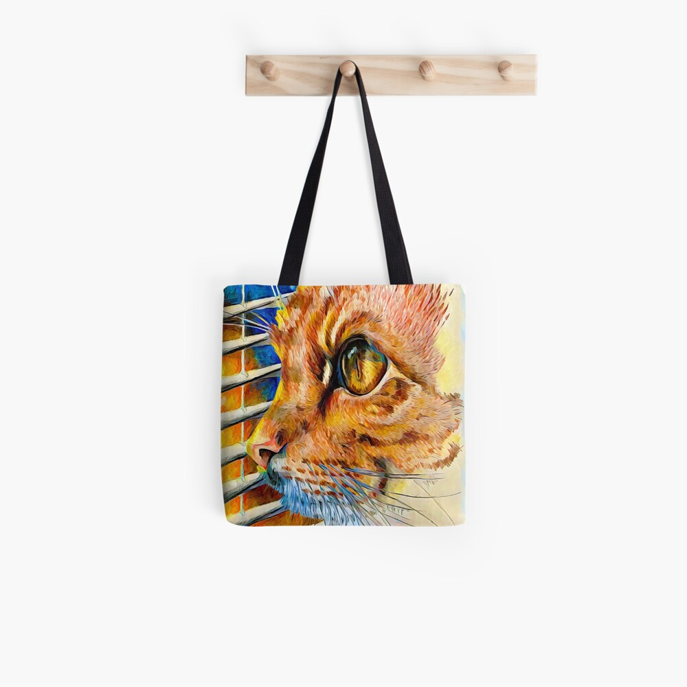 Winter-Sonnenuntergang Tote Bag