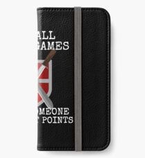 Cool Live Action Role Play Design for LARP Fans iPhone Wallet/Case/Skin
