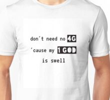 4G<1God Unisex T-Shirt