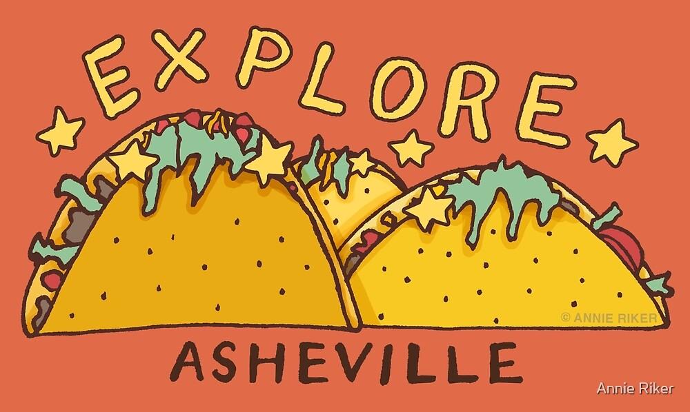 Asheville Taco Mountain by Annie Riker