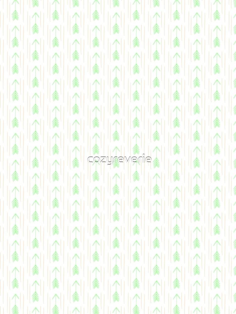 Mint Green Arrows by cozyreverie