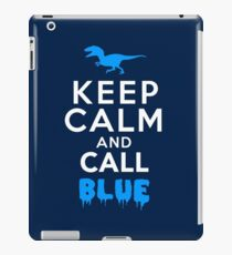 Vinilo o funda para iPad Mantenga la calma y llame al azul   Raptor
