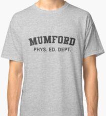 Beverly Hills Cop Mumford T-shirt Axel Foley Phys Ed Dept Detroit 80s vintage retro Classic T-Shirt