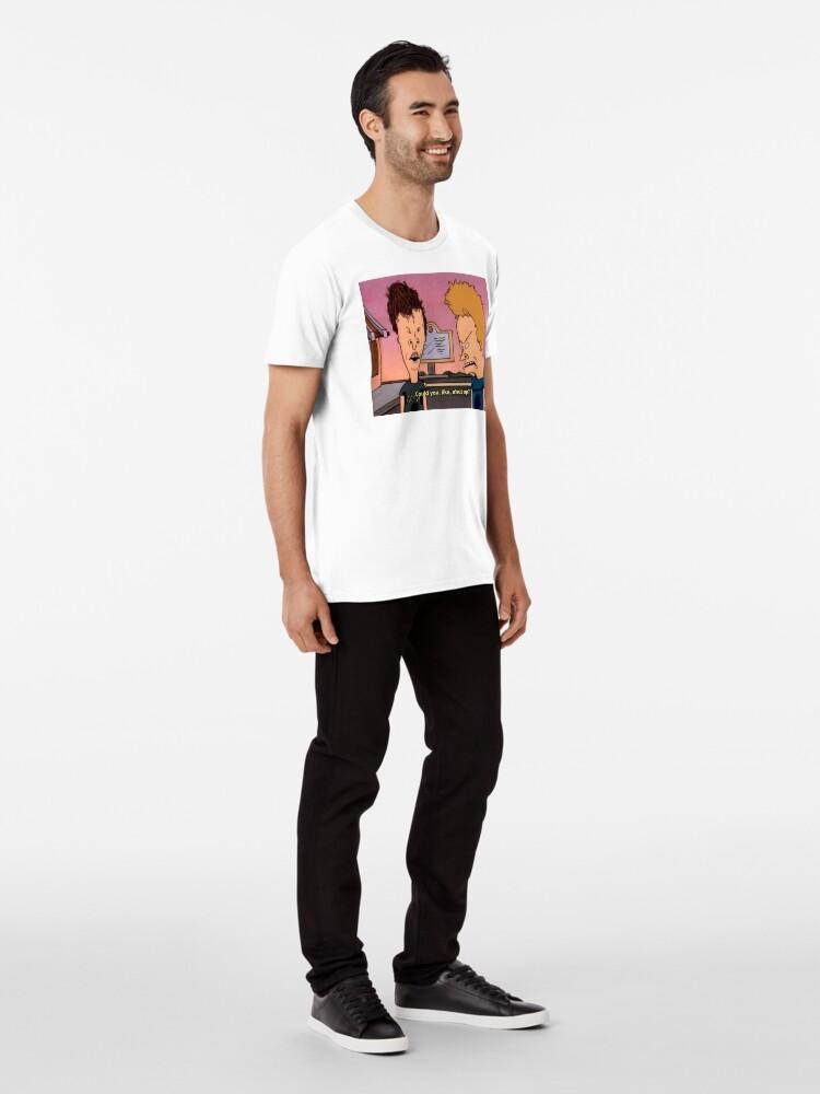 Alternate view of beavis and butthead Premium T-Shirt