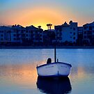 Port De Alcudia Sunset by Jim Wilson
