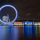 Blue London by muzy