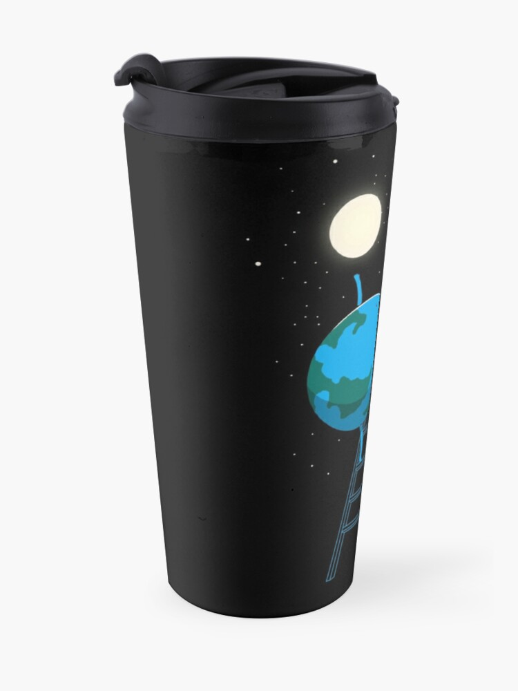 Alternate view of Reach the moon Travel Mug