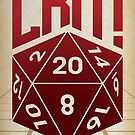 Crit Success - Red by Justin Klett