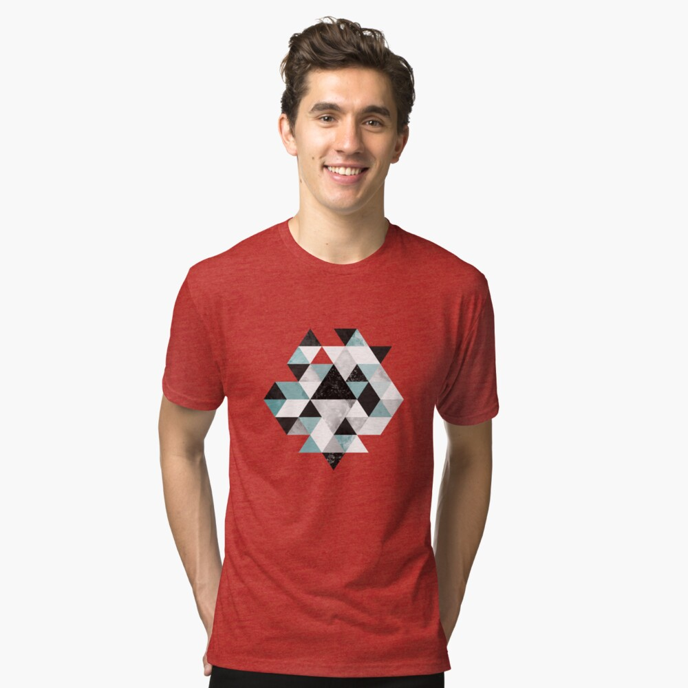 Graphic 202 Turquoise Tri-blend T-Shirt