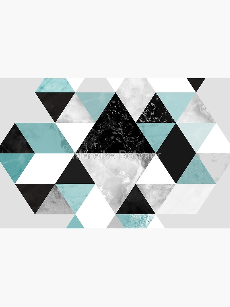 Graphic 202 Turquoise by MarBoe