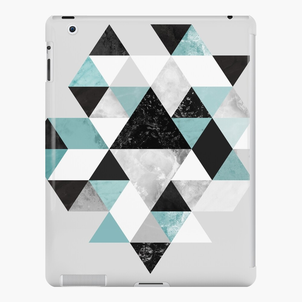 Graphic 202 Turquoise iPad Case & Skin