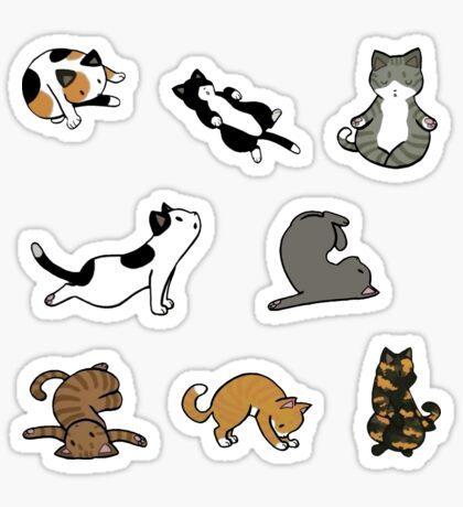Cat Pack Sticker