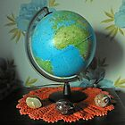 Globe and Stones by BlueMidnight