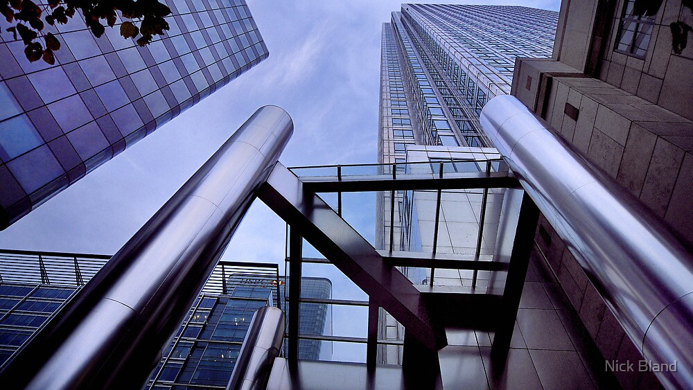 Canary Wharf Architecture by Nick Bland