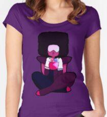 Garnet Ships Herself Women's Fitted Scoop T-Shirt
