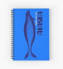 Steller Sea Cow Drawing, Alaska Spiral Notebook