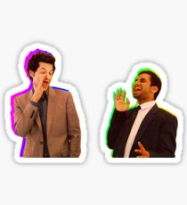 Parks and Rec - John Ralphio and Tom Haverford Sticker