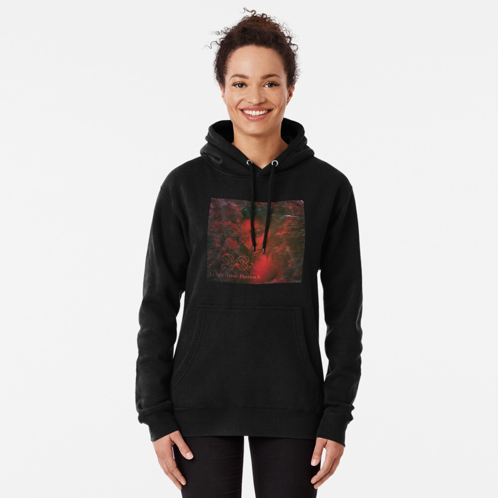 LAP - STRAWBERRY RED/MAGNETTA LEAVES Pullover Hoodie