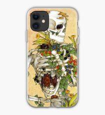 Bones and Botany iPhone Case