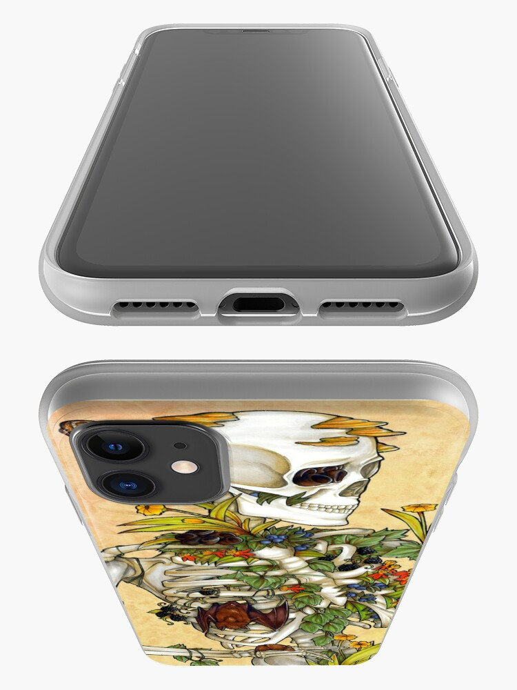 Alternate view of Bones and Botany iPhone Case & Cover