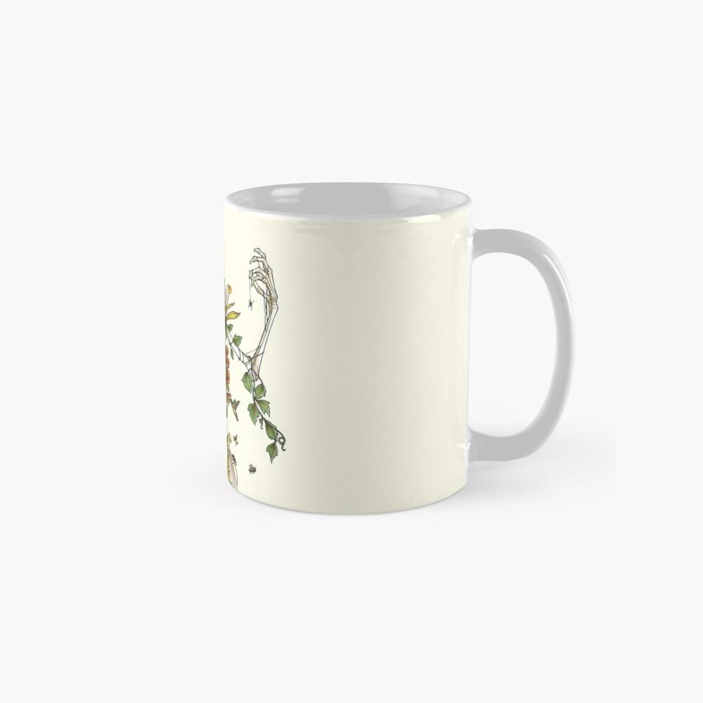 Knochen und Botanik Tassen