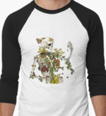 Bones and Botany Men's Baseball ¾ T-Shirt
