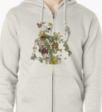 Bones and Botany Zipped Hoodie