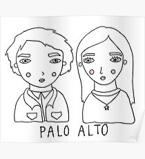 palo alto - teddy and april Poster