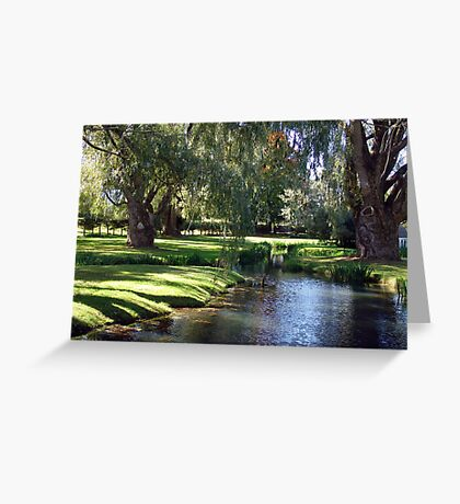 The Willows of Grand Pre Greeting Card