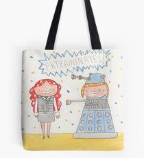 October - Year of Sisters - Watercolor Tote Bag