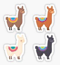 Llama Group Sticker