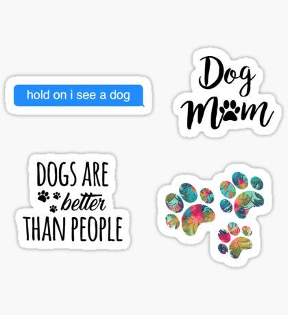 Dog Pack Sticker