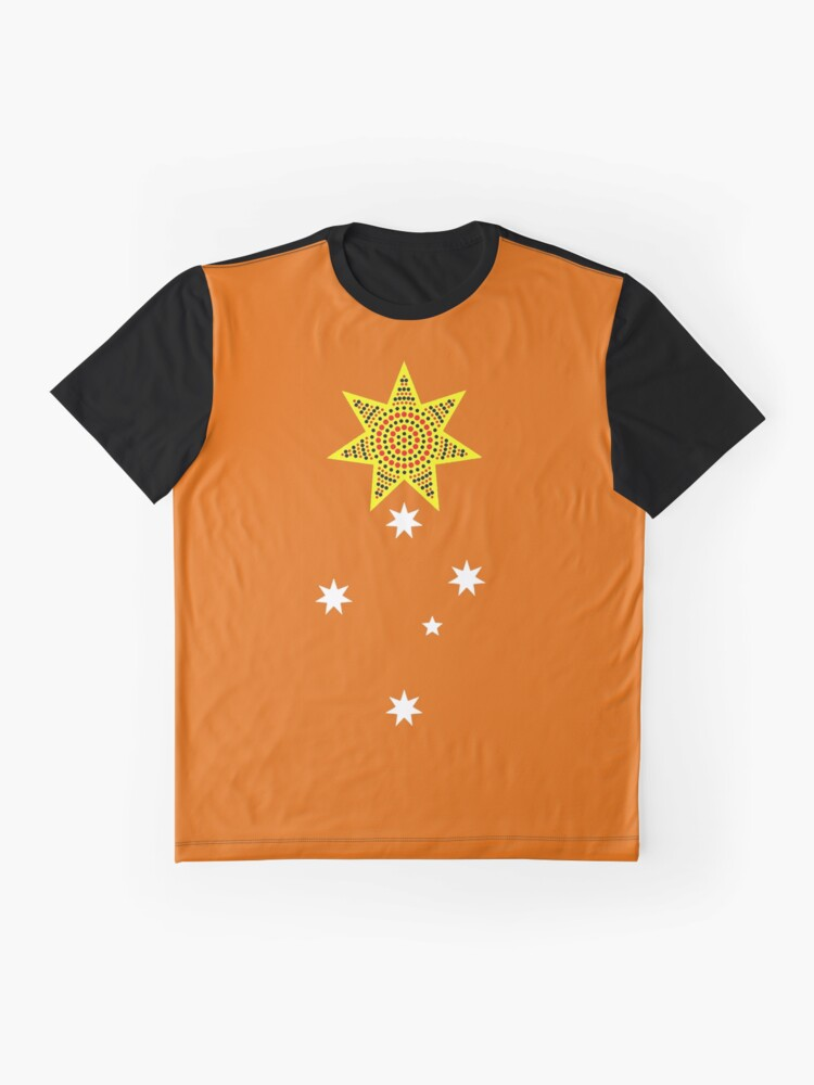 Alternate view of one day, someday, maybe, just a thought, banner on orange Graphic T-Shirt