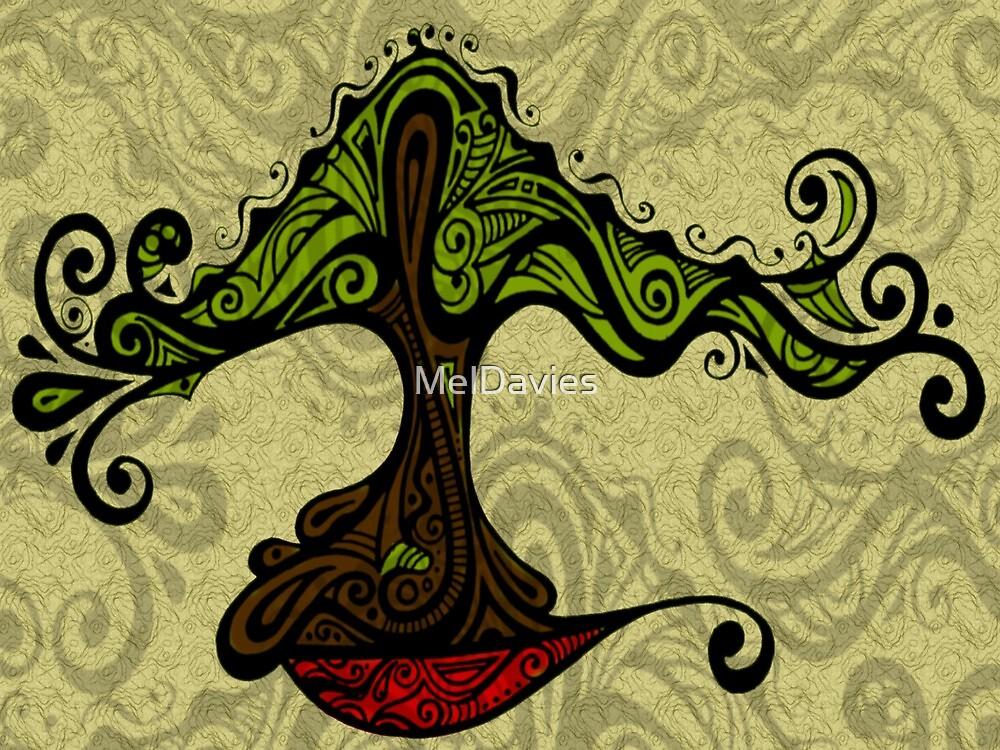 Bonsai in Colour (Large print version) by MelDavies