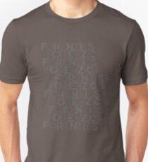 Forenzics - Repetitive Type Grey Unisex T-Shirt