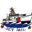 Coast Guard 154 Set Sail by AlwaysReadyCltv