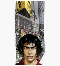A Walk in NY City Poster