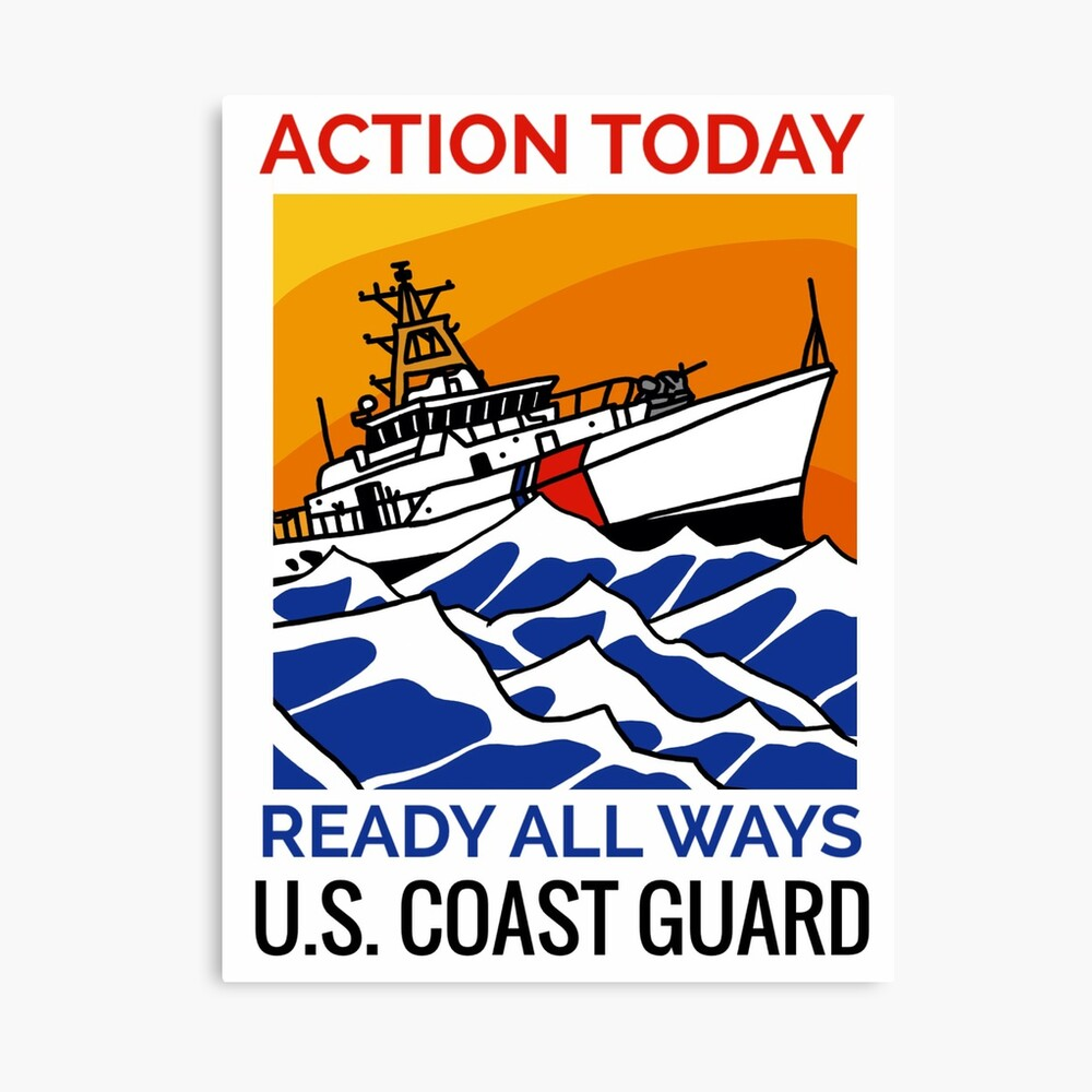 Coast Guard FRC Action Today Canvas Print